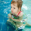 The little girl in the water — Stock Photo #21333241