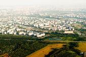 Luftbild der stadt — Stockfoto