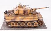 German heavy tank of World War II model — Stock Photo