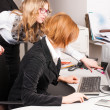 Royalty-Free Stock Photo: Businesswomen working with computer