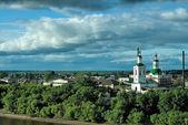 Voznesensko-Georgiyevsky church in Tyumen — Stockfoto