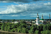 Voznesensko-Georgiyevsky church in Tyumen — Stock Photo