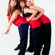 Royalty-Free Stock Photo: Group of dancing girls