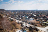 Old part of tobolsk town, Russia — Stock Photo