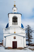 John Predtechi's church. Tobolsk district. Russia — Foto de Stock