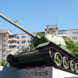 Soviet tank t34 monument in Kaliningrad — Stock Photo #28825739