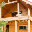 Stock Photo: Wooden house for rest