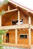 Holzhaus für rest — Stockfoto