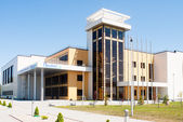 "Entertaining center ""Priboy"" (Baltiysk) — Stock Photo"