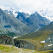 Mountains range in Altai — Stock Photo