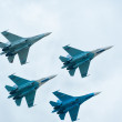 Military air fighters — Stock Photo