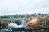 Start rakiety systemu ot 1a — Zdjęcie stockowe