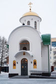 Dmitry Donskoy Chapel in Tyumen — Стоковое фото