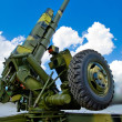 Stock Photo: Howitzer