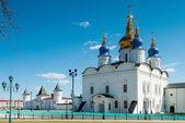 St Sophia-Assumption Cathedral in Tobolsk Kremlin — Stock Photo