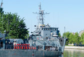 Russian battle ships — Stock Photo