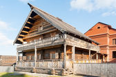 Museum of wooden architecture. Russia — Stock Photo