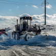 Stock Photo: Snow grader