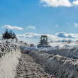 Truck cleaning road in winter — Stock Photo #38999397