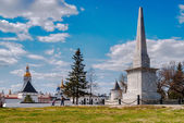 Monument to Ermak in Tobolsk — Stock Photo
