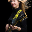 Woman with guitar — Stock Photo #39263155