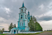 Church of the Transfiguration.N.Sinyachikha.Russia — Stock fotografie