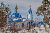 Uspensko-Nikolsky temple in Yalutorovsk. Russia — Stock Photo