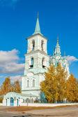 Church of the Transfiguration.N.Sinyachikha.Russia — Stockfoto