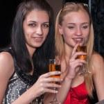 Beautiful women relaxing in bar — Stock Photo #42016871