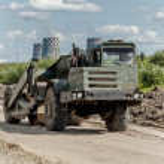 Road construction process — Stock Photo #42154411