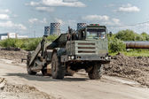 Road construction process — Foto Stock