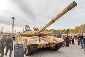 Modernized tank T-90s. Russia — Stock Photo