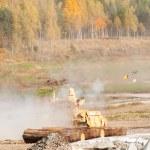 Постер, плакат: Tank Support Fighting Vehicle Terminator Russia