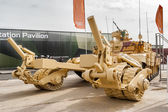 Armored mine-clearing vehicle BMR-3M (Russia) — ストック写真