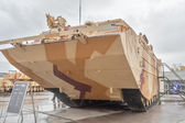 Tracked amphibious carrier PTS-4. Russia — Stock Photo