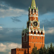 Kremlin. Spasskaya tower. Moscow. Russia — Stock Photo #43737593