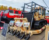 Bulldozer B10M of Chelyabinsk Tractor Plant.Russia — Stock Photo