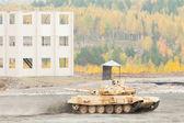 Modernized tank T-90S — Stock Photo