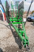 Agriculture equipment on exhibition. Tyumen.Russia — Foto de Stock