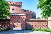 Toegang tot het amber museum. Kaliningrad — Stockfoto