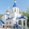 Постер, плакат: The temple in honor of icon of God Mother Tyumen