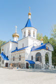 The temple in honor of icon of God Mother. Tyumen — Stock Photo