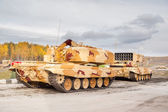 Heavy fire-throwing TOS-1A vehicles. Russia — Stock Photo