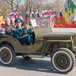 Veterans of World War 2 on parade — Stock Photo #46555867