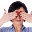 Woman with closed eyes — Stock Photo #4746371
