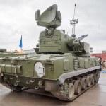 Antiaircraft gun missile system 2S6M1 Tunguska M1 — Stock Photo #48632685