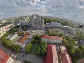 Edificio de Gazprom. Vista posterior. Tyumen, Rusia — Foto de Stock