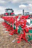 Hinged equipment for tractor. Tyumen. Russia — Stock Photo
