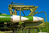 Rockets of Buk missile system — Stock Photo