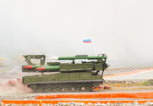 Buk-M1-2 surface-to-air missile systems — Stock Photo